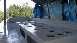 Twin Island Dive Boat (Tank Racks)
