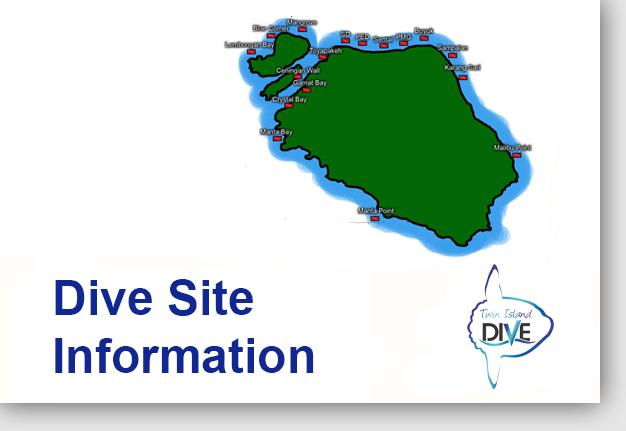 Dive Site Information - diving penida
